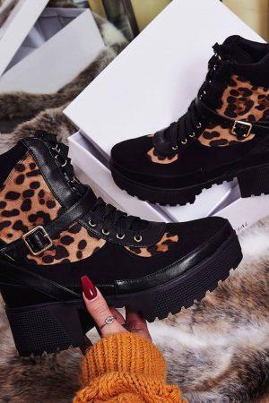 Ava gležnarji – leopard