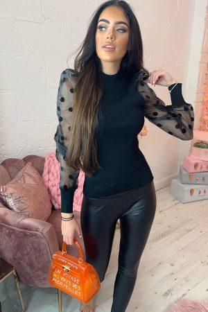 Majica POIS – črna