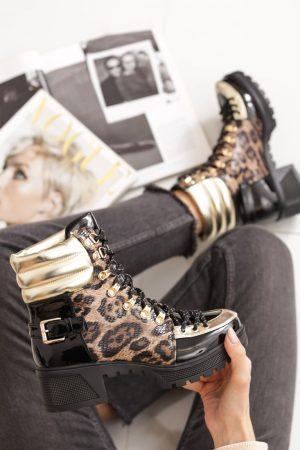 Naomi gležnarji leopard