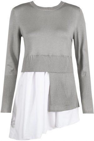 Asimetrična tunika – siva