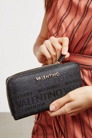 Valentino denarnica Dory – črna
