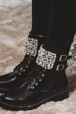Autumn gležnarji s perlami